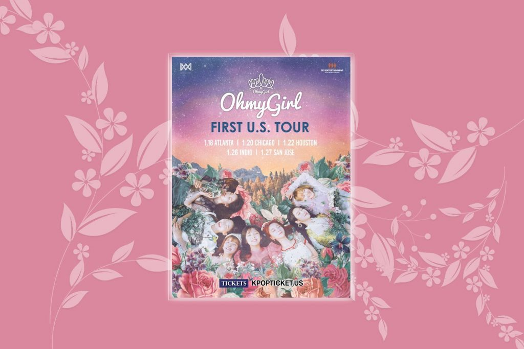 oh-my-girls, ohmygirls, kpop-girl-s-band, world-concert-tour 2019