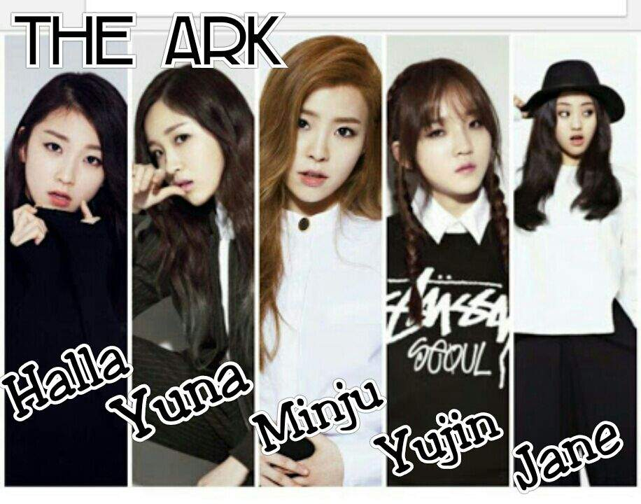 The Ark, TheArk, Girls Band, kpop members-profile