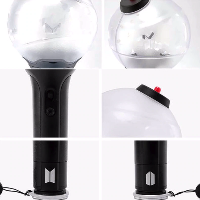 Army Bomb KPOP BTS Ver.3 Light Stick Bangtan Boys World Concert Speak Yourself Map of Soul Persona Boy with Luv Glow Lamp Lightstick With Bluetooth Fans Gift Luminous Toys