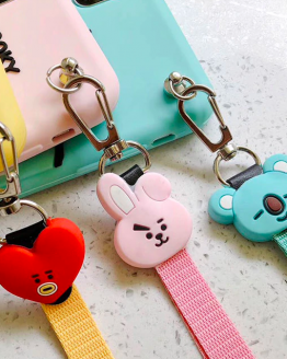 BTS BT21 Cartoon Silicon iPhone Case Cover K-POP Bangtan Korean TATA COOKY KOYA For Iphone Xs Max:iphone 7:8plus-10