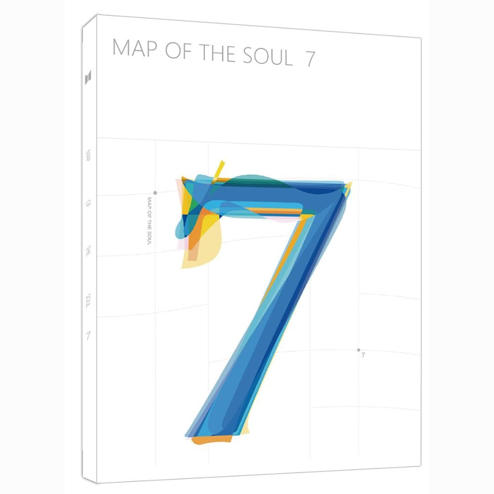 KPOP Bangtan Boys MAP OF THE SOUL:7 photo album with 16pc photo 8pc bookmarks Collection Photocard