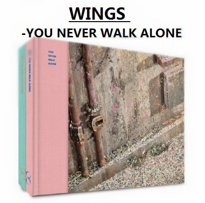 [MYKPOP]~100% OFFICIAL ORIGINAL~ HOT-BOYS WINGS: You Never Walk Alone, Album Set CD---SA19092205
